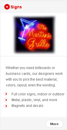 Outdoor Free Standing Signs