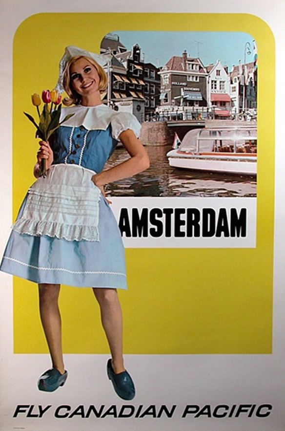 Canadian Pacific Amsterdam Poster